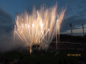 gothia cup opening fireworks
